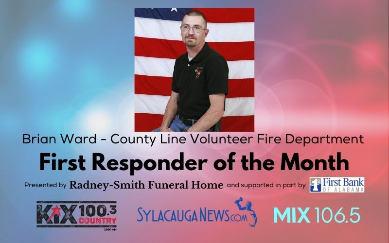 First Responder of the Month (August 2021) – Brian Ward